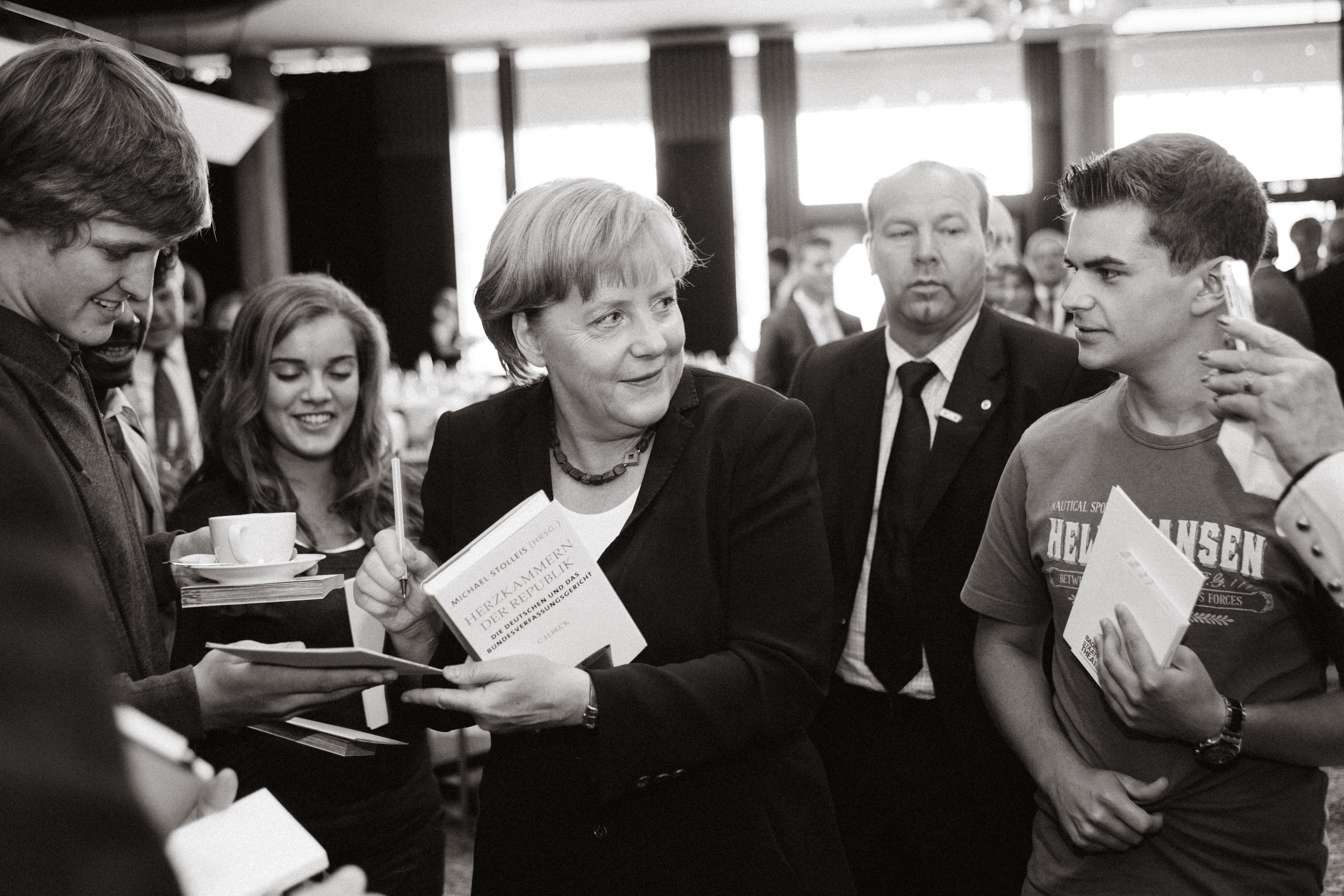 : Angela Merkel - German chancellor